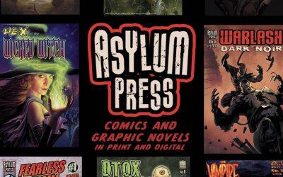 Asylum Press announces Halloween Horror Box Kickstarter