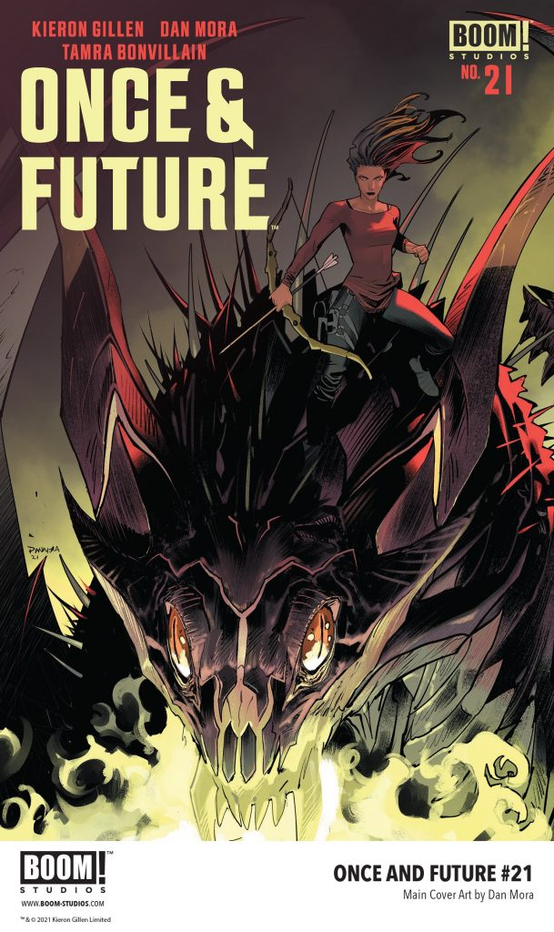, England's Last Heroes Face Certain Death in ONCE & FUTURE #21, The Indie Comix Dispatch
