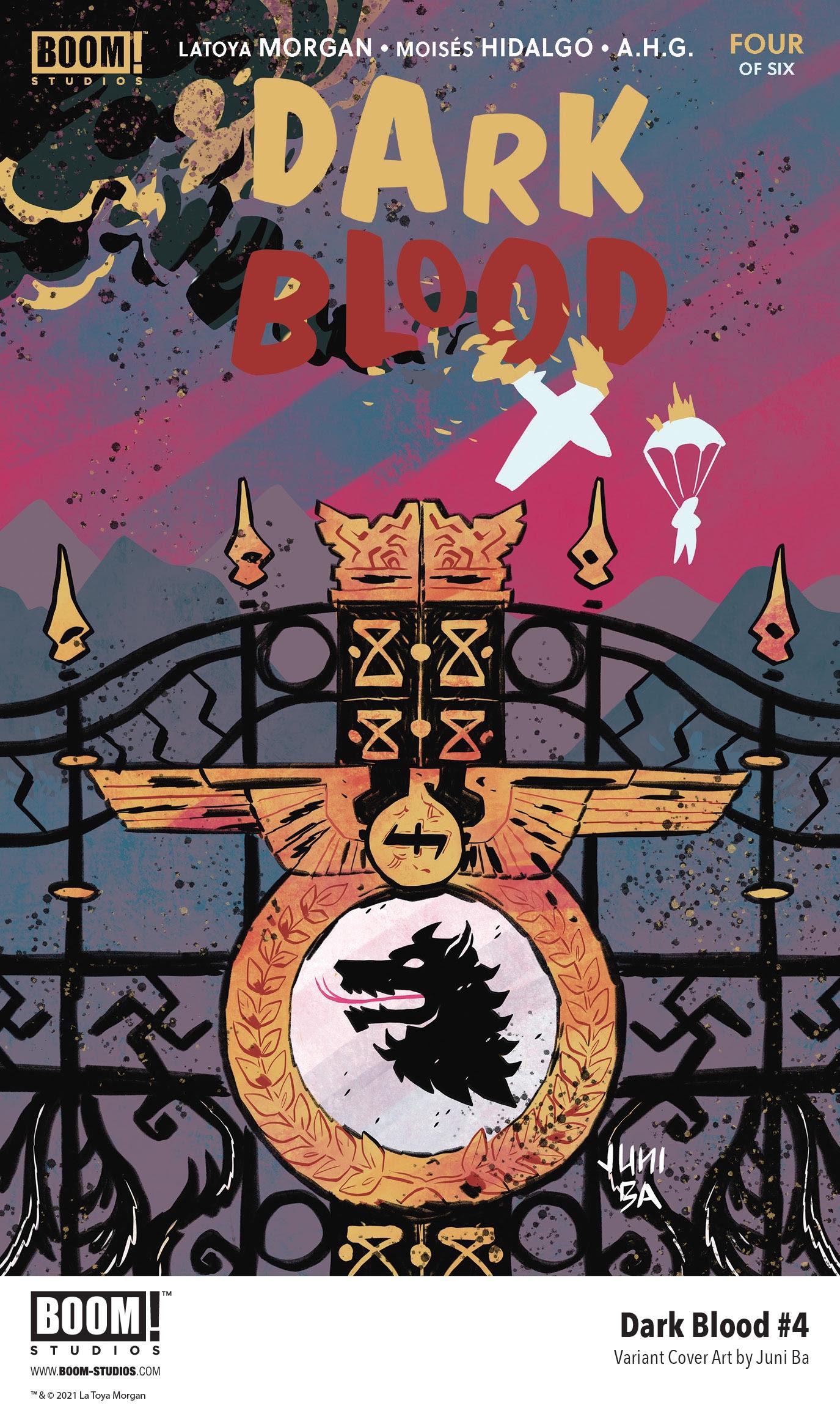 , First Look: LaToya Morgan's DARK BLOOD #4, The Indie Comix Dispatch