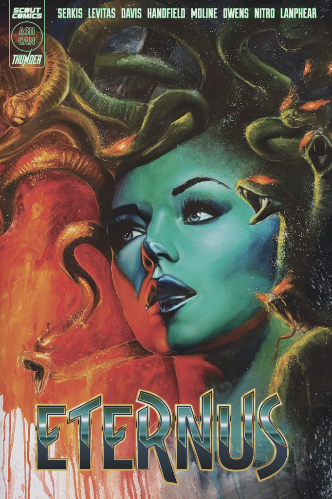 , Scout Comics Set To Launch Andy Serkis Myth-Inspired Comic ETERNUS, The Indie Comix Dispatch