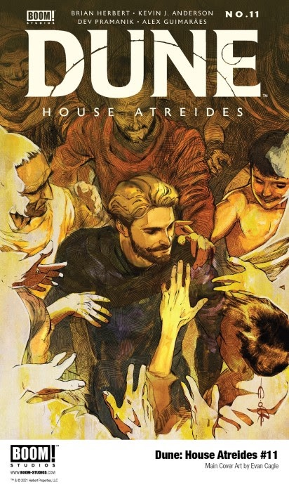 , Duke Leto Atreides Risks Everything in DUNE: HOUSE ATREIDES #11, The Indie Comix Dispatch