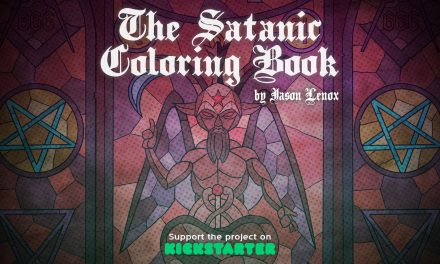 Indie Comic Creator Launches The Satanic Coloring Book Volumes 1 & 2 on Kickstarter!